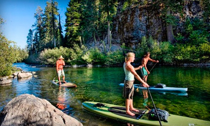Austin Paddle Sports - Bouldin: Four or Eight One-Hour Standup-Paddleboard Rentals from Austin Paddle Sports (Up to 55% Off)