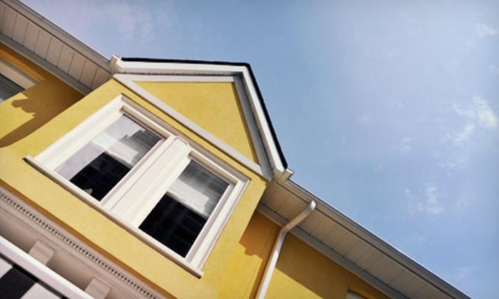 Metroplex Window & Gutter Cleaning - Rowlett: Cleaning for 15, 25, or 35 Exterior Windows from Metroplex Window & Gutter Cleaning (Up to 62% Off)