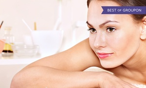 White Dahlia: 90-Minute Massage with Optional Facial at White Dahlia (Up to 52% Off)