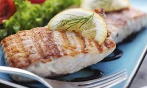 Retsinadiko: Griechisches 3-Gänge-Sonntags-Dinner mit Fischplatte und Aperitif für Zwei oder Vier im Retsinadiko (bis zu 46% sparen*)