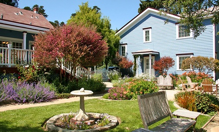 2-Night Stay for Two with Wine Package at Olallieberry Inn Bed and Breakfast in Cambria, CA. Combine Up to 10 Nights.