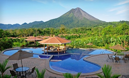 groupon daily deal - 3-, 4-, or 5-Night Stay for Two with Welcome Cocktail and Breakfast at Arenal Manoa in Costa Rica