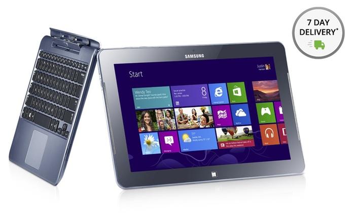 "Samsung 11.6"" Windows 8 Tablet with Optional Keyboard Docking Port : Samsung 11.6"" Windows 8 Tablet with Keyboard Dock Option from $329.99–$449.99 (Manufacturer Refurbished). Free Returns."