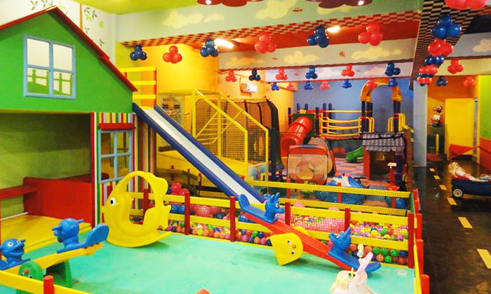 50 discount on fun factory sector 9d chandigarh 1hr at for Cheap indoor play areas
