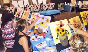 Artist at Heart Paint Party: One Painting Class for One or Two People at Artist at Heart Paint Party (Up to 41% Off)