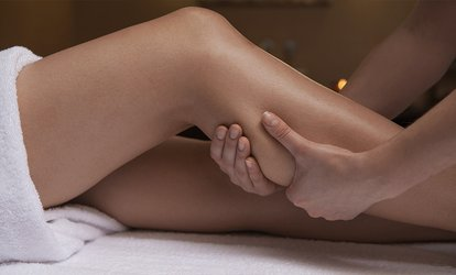image for Reflexology Package Including Pedicure, Foot and Leg Massage, and Reflexology at Enhance Beauty Salon (36% Off)