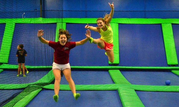 AirHeads Trampoline Arena - Orlando: Unlimited Trampoline Jumping for Two or Four at AirHeads Trampoline Arena in Orlando (Up to 44% Off)