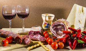 L'Enoteca: Degustazione di 4 vini siciliani accompagnati da pietanze nostrane (sconto fino a 72%)