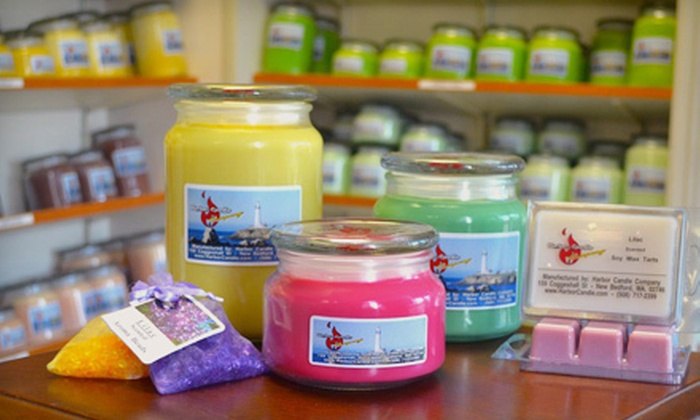 Harbor Candle Company: $15 for $30 Worth of Natural Candles at Harbor Candle Company in New Bedford