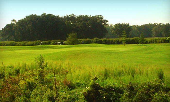 White Pines Golf Course - Swanton: Round of Golf with Cart Rental for Two or Four at White Pines Golf Course (Up to Half Off)