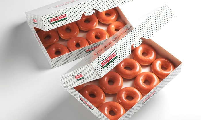 Krispy Kreme - Krispy Kreme Kettering: Two Dozen or Five Dozen Doughnuts at Krispy Kreme (Up to 54% Off)