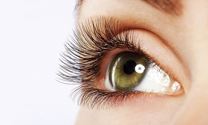 $39 for Silk Eyelash Extensions or $45 to Add a Collagen Eye Mask at Crayon Nail and Beauty, CBD (Up to $100 Value)