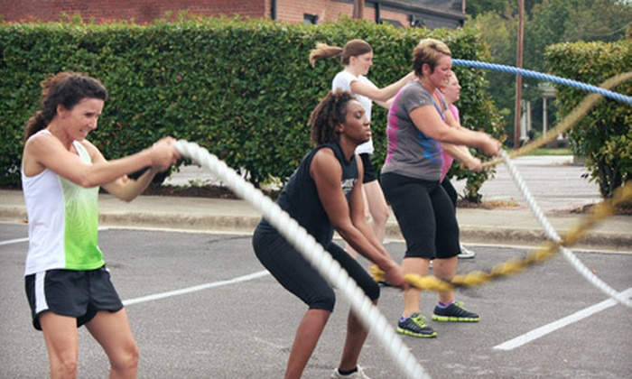OPT Fitness - Fuquay-Varina: 10 or 20 Adult Boot-Camp Classes or 5 Rookie Boot-Camp Classes at OPT Fitness (Up to 66% Off)