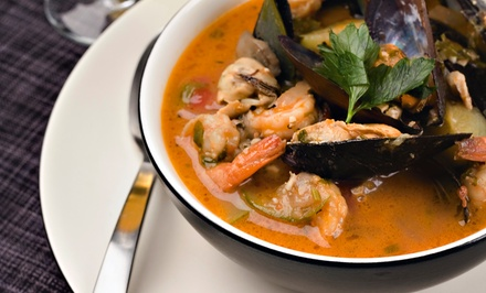 Seafood and Drinks for Dinner at Juno Beach Fish House (Up to 47% Off). Two Options Available.