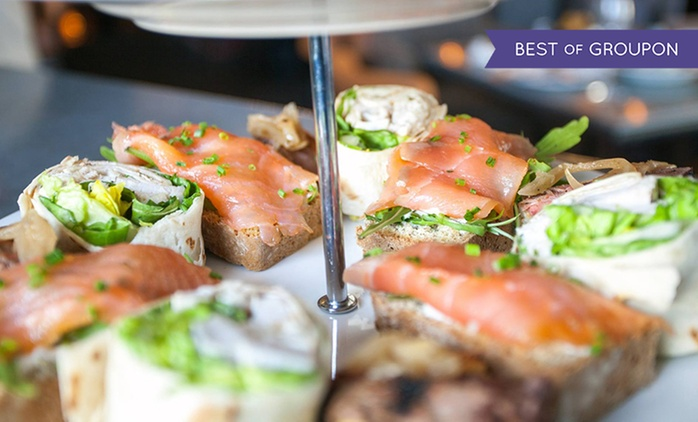 Afternoon Tea with Glass of Prosecco for Two for Two or Four at Gallaher and Co Bistro (47% Off)