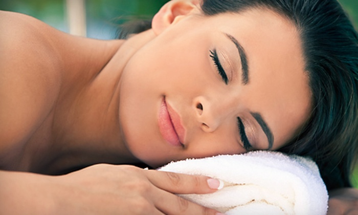 The Woodhouse Day Spa - Red Bank: $195 for a Spa Package with Massage, Facial, Eye Treatment, and More at The Woodhouse Day Spa ($390 Value)
