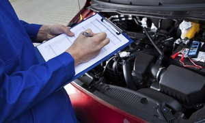 Marshall Motors SW Ltd: MOT Test and Brake Fluid Flush (£22.95) or 54-Point Service With Oil Change (£44.95) at Marshall Motors