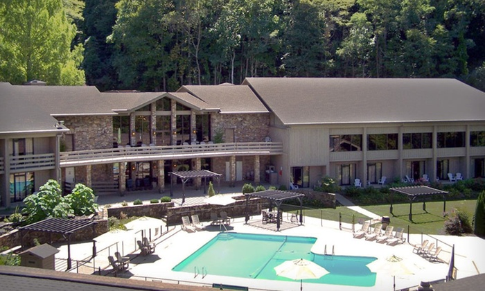 Fontana Village Resort - Fontana Dam,	NC: Two-Night Stay with Recreation Passes and a Lake Cruise at Fontana Village Resort in Great Smoky Mountains, NC