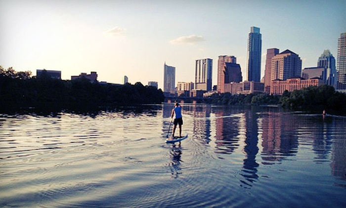Paddle Zen - Riverside: One-Hour Paddleboard Rental for Two or Four, or Two-Hour Rental for One, Two, or Four from Paddle Zen (Up to 54% Off)