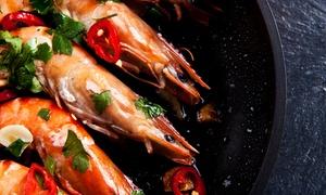 Fraschetta di Mare: Menu gourmet di pesce con bottiglia di vino ai Castelli Romani da Fraschetta di Mare (sconto 69%)