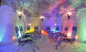 souffle salin: Séance de 45 min dans la grotte de sel pour 1 ou 2 personnes dès 9,90 € au Souffle Salin