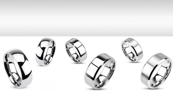 Stainless Steel Unisex Bands: Stainless Steel Unisex Bands. Multiple Styles Available. Free Returns.