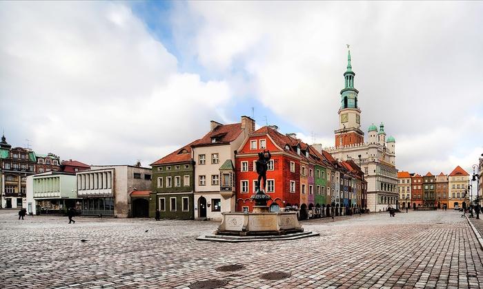 Poznań: pokój standard przy Starym Rynku