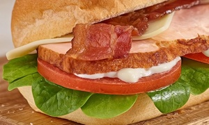 Subway: Footlong Meals for Four or Six-Inch Subs at Subway (Up to 47% Off)