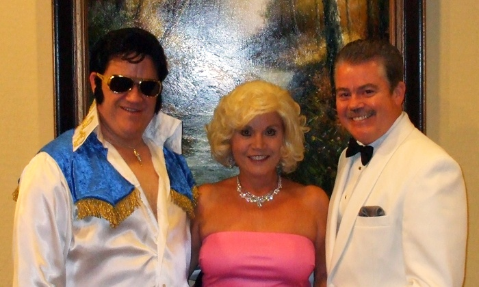 """""""An Old-Fashioned Christmas, with Frank, Dean, Elvis, Nat and Bing"""" - Turpin Hills: """"An Old-Fashioned Christmas, with Frank, Dean, Elvis, Nat and Bing""""at Patriot Center, December 6–27 (Up to 40% Off)"""