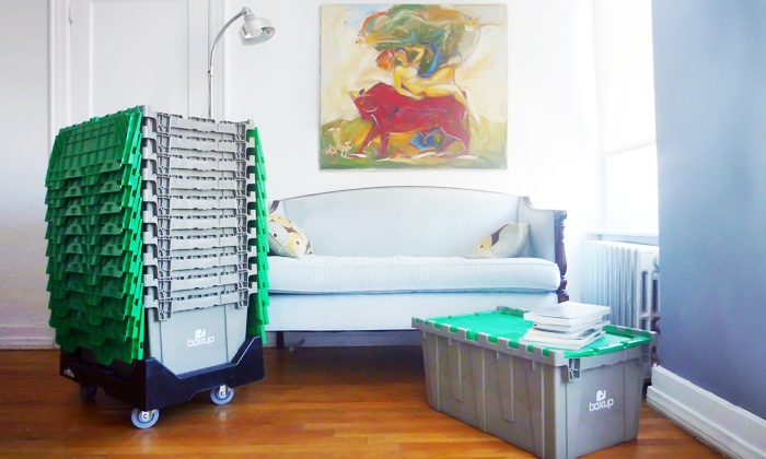 BoxUp - New York City: Eco-Friendly Rental Boxes from BoxUp (Up to 53% Off)