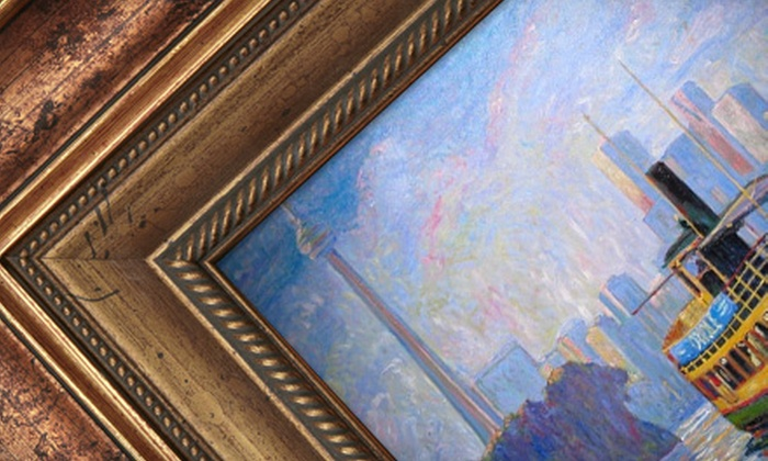 K.H. Art & Framing - Multiple Locations: $49 for $169 Worth of Framing Services at K.H. Art & Framing