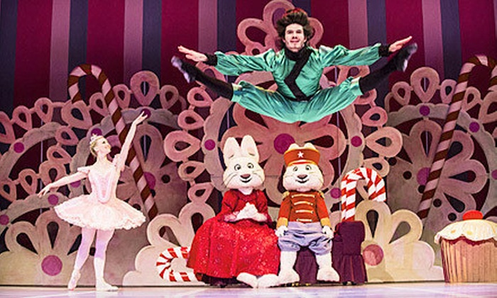 """Max & Ruby: Nutcracker Suite 2012 - The Dome at Toyota Presents Oakdale Theatre: """"Max & Ruby: Nutcracker Suite 2012"""" at Toyota Presents Oakdale Theatre on December 11 at 2 p.m. (Up to $47 Value)"""