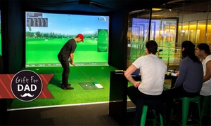 Slice Virtual Golf: Virtual Golf with Beers for Two ($29), Four ($49) or Eight ($89) at Slice Virtual Golf (Up to $202 Value)