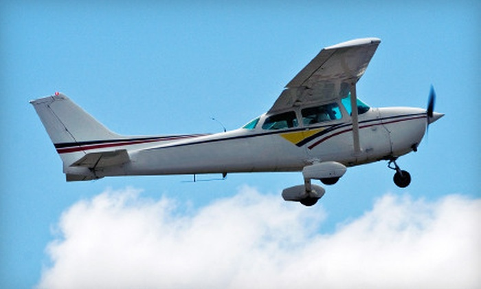 Mid Island Air Service - Ronkonkoma: $99 for a 75-Minute Adventure Flight from Mid Island Air Service ($225 Value)