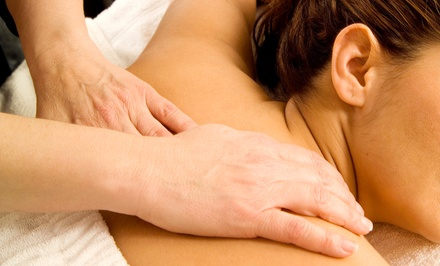 One Hot-Stone Massage or One or Two Aromatherapy Massages with Essential Oils at Neva Massage Center (53% Off)