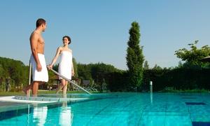 Wellness & Hotel Thermen Bussloo: deluxe tweepersoonskamer met ontbijt en 2 dagen spa-toegang voor 2 personen