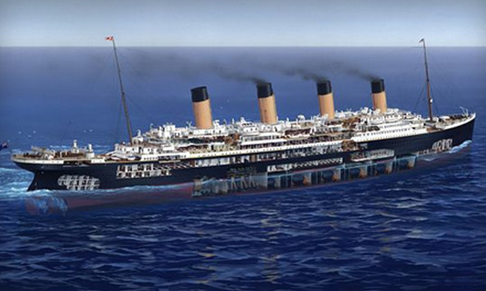 """Titanic: 100 Year Obsession"" - Balcones Heights: ""Titanic: 100 Year Obsession"" Exhibit for Two or Four at National Geographic Museum (Up to Half Off)"