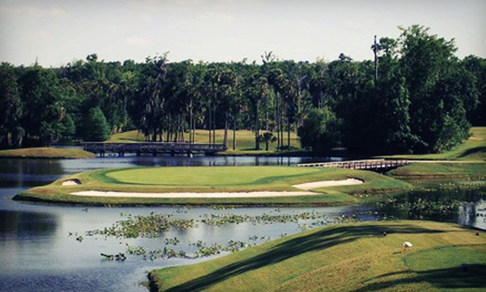 Alaqua Country Club - Alaqua: $28 for 18 Holes of Golf, Cart Rental, and Range Balls at Alaqua Country Club (Up to $60 Value)