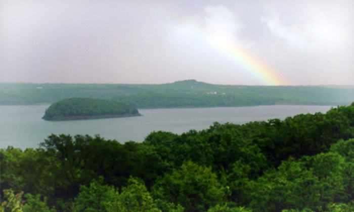 Tenkiller State Park - Lake Tenkiller State Park: One-Night Stay in One- or Two-Bedroom Cabin for Up to Six at Tenkiller State Park (Up to 51% Off)