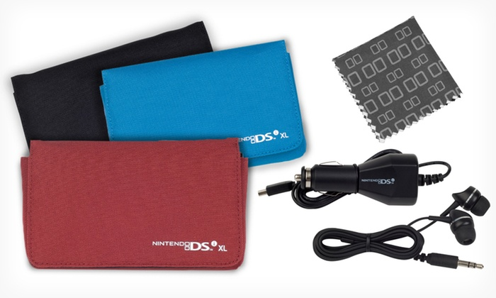 PowerA Starter Kit for Nintendo DSi XL: $11.99 for a PowerA Starter Kit for Nintendo DSi XL in Black, Blue, or Wine ($29.99 List Price)