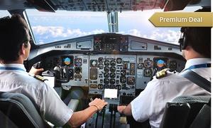 Flugausbildungszentrum Dortmund: 75 Min. Flugsimulator fliegen inkl. Briefing und Theorie im Flugausbildungszentrum Dortmund ab 74,90 €