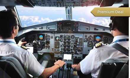 75 Min. Flugsimulator fliegen inkl. Briefing und Theorie im Flugausbildungszentrum Dortmund ab 74,90 €