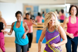 Dance Fitness (zumba/ Piyo) Studio: Four Weeks of Unlimited Zumba Classes at Dance Fitness (50% Off)