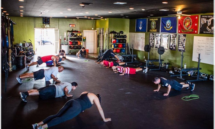 Crossfit Pledge Fitness - Downey: Morning Classes and Unlimited Open Gym Access from CrossFit Pledge Fitness (65% Off)