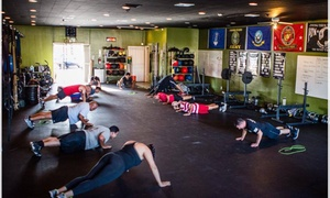 Crossfit Pledge Fitness: Morning Classes and Unlimited Open Gym Access from CrossFit Pledge Fitness (65% Off)