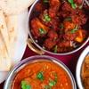 Indisches 4-Gänge-Menü