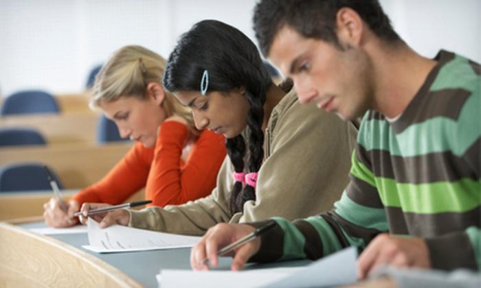 Allen Prep - SAT, ACT Test Prep: $25 for a Lifetime SAT, ACT, PSAT, GRE or GMAT Prep Package from Allen Prep ($149 Value)