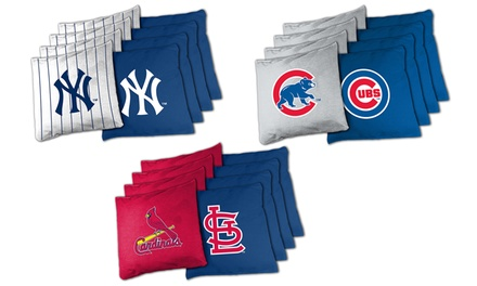 MLB 8-Piece Extra-Large Bean Bag Set