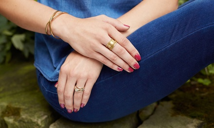 One or Two Gel Manicures at DeVae's Skin & Nail Care (Up to 50% Off)