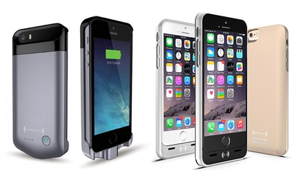 PRESS PLAY Apple-Certified Extended Battery Case for iPhone 5/5s/6/6s/6 Plus